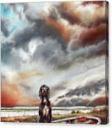 Turner's Dog Canvas Print