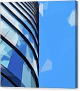 Turning The Corner - The Skywards Series Canvas Print