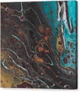 Turq's And Carnelian Canvas Print
