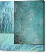 Turquoise Textures Canvas Print