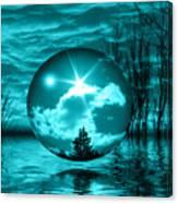 Turquoise Dreams Canvas Print