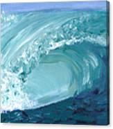 Turquoise Room Canvas Print