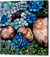 Turquoise Stone Canvas Print