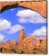 Turret Arch, Arches National Park Canvas Print