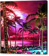 Turtle Bay - Independence Day Canvas Print