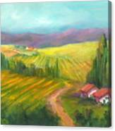 Tuscan Fields Canvas Print