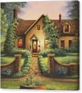 Tuscan Home Canvas Print
