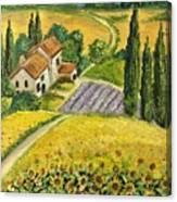 Tuscan Italy Canvas Print
