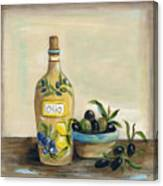 Tuscan Olive Oil  Canvas Print