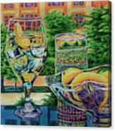 Tuscan Summer Lemonade  Canvas Print