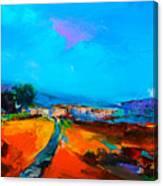 Tuscan Village Canvas Print
