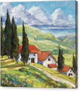 Tuscan Villas Canvas Print