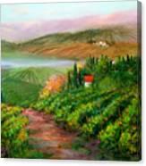 Tuscan Vista Canvas Print