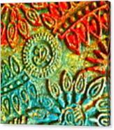 Tuscany Batik Canvas Print