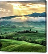 Tuscany Sunburst- Canvas Print