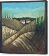 Tuscany Trees Canvas Print