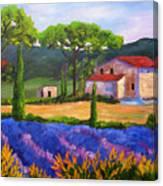 Tuscany Villa Canvas Print