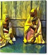 Tuskens At Break - Pa Canvas Print