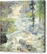 twachtman the rainbows source 1890s John Henry Twachtmann Canvas Print