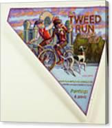 Tweed Run London 2 Guvnors  Canvas Print