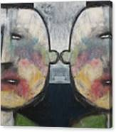 Tweedledee And Tweedledum Canvas Print