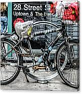 Twenty Eight Street Canvas Print