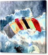 Twenty-first Century Icarus Canvas Print