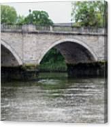 Twickenham Bridge Spans The Thames Canvas Print
