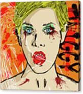 Twiggy Got Jealous Canvas Print