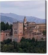 Twilight At The Alhambra Canvas Print