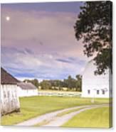 Twilight Barn - Winneconnie Canvas Print