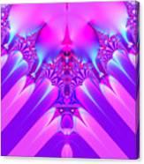 Twilight Descending Fractal Canvas Print