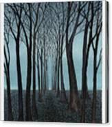 Twilight Forest Canvas Print