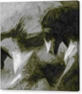 Twilight In Mescalero Canvas Print