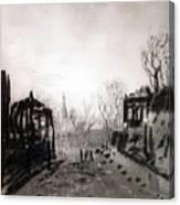 Twilight Landscape 1880 Alexey Kondratievich Savrasov Canvas Print