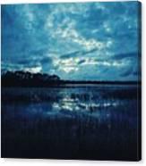 Twilight On The Lake Canvas Print