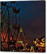 Twilight On The Midway  Canvas Print
