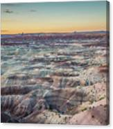 Twilight Over The Painted Desert Canvas Print
