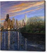 Twilight Serenity Canvas Print