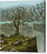 Twin Falls Kingdom Canvas Print