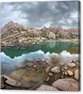 Twin Lakes - Weminuche Wilderness - Colorado Canvas Print