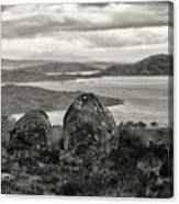 Twin Rocks Canvas Print