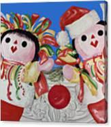 Twin Stockings Canvas Print