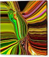 Twisted Glass Canvas Print