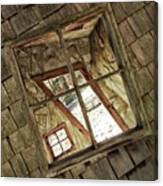 Twisted House Canvas Print