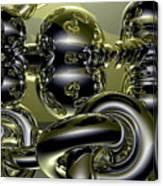 Twisted Logic Canvas Print