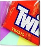 Twix Candy Canvas Print