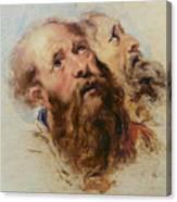 Two Apostles Canvas Print