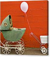 Two Baby Buggies  Canvas Print