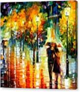Two Couples Canvas Print